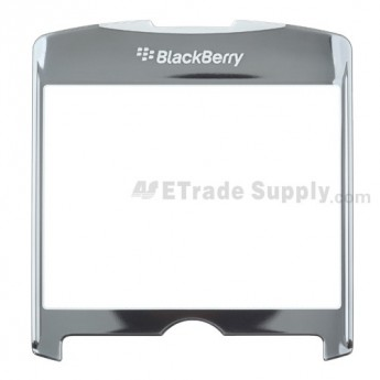For BlackBerry Curve 8300/8310/8320 Glass Lens without Adhesive Replacement - Silver - Grade A