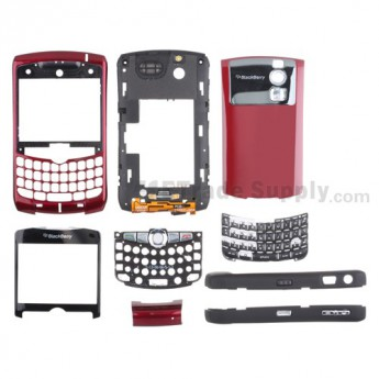 For Blackberry Curve 8320 Complete Housing Replacement ,Pink - Grade S+