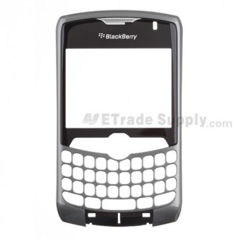 For BlackBerry Curve 8330 Front Housing with Lens Replacement ,Red - Grade S+