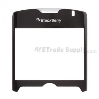 For Blackberry Curve 8330 Glass Lens with Adhesive Replacement - Silver - Grade A