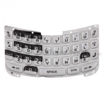 For Blackberry Curve 8330 Keypad Replacement ,Black - Grade S+