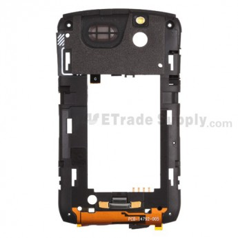 For BlackBerry Curve 8330 Rear Housing Assembly Replacement ,Black - Grade S+