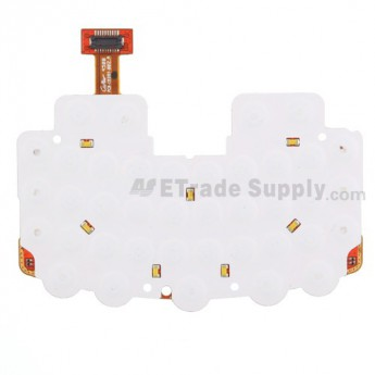 For BlackBerry Curve 8350i Keyboard Flex Cable Ribbon Replacement - Grade S+