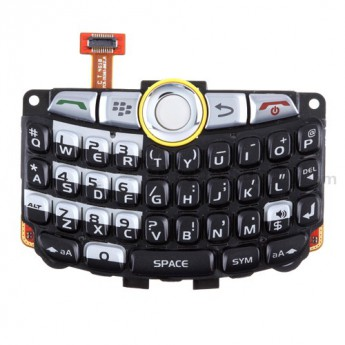 For BlackBerry Curve 8350i Keypad and Keyboard Assembly with Trackball Replacement - Grade S+