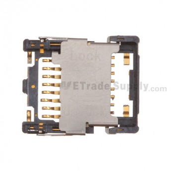 For BlackBerry Curve 8350i SD Card Tray Replacement - Grade S+