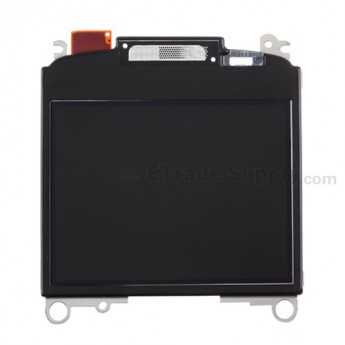 For BlackBerry Curve 8520, 8530 LCD with Metal Frame Replacement (11059-005/004) - Grade S+