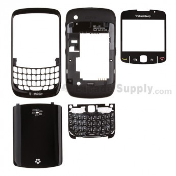 For BlackBerry Curve 8520 Housing Replacement (T-Mobile) ,White - Grade S+