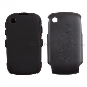 For BlackBerry Curve 8520 Otterbox Impact Case ,Black - Grade S+