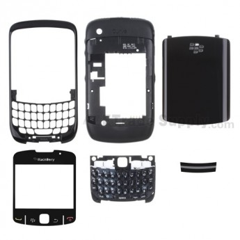 For BlackBerry Curve 8530 Housing without Brand Replacement ,White - Grade S+