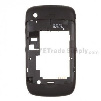 For BlackBerry Curve 8530 Rear Housing Assembly Replacement ,Black - Grade S+