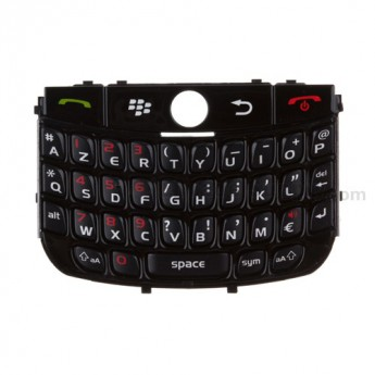 For BlackBerry Curve 8900 AZERTY Keypad Replacement ,Black - Grade S+