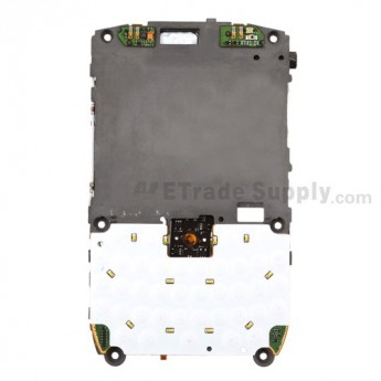 For BlackBerry Curve 8900 Middle Metal Plate with Small Parts - Grade S+