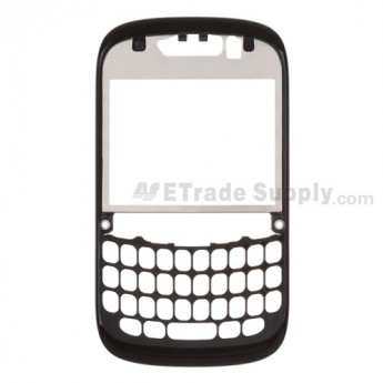 For BlackBerry Curve 9220 Front Housing Replacement ,Black - Grade S+