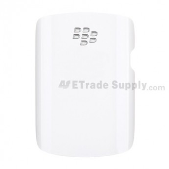 For BlackBerry Curve 9360, 9350 Battery Door  Replacement ,White - Grade S+