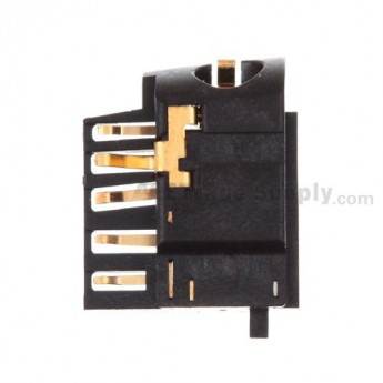 For BlackBerry Curve 9380 Earphone Jack Replacement - Grade S+