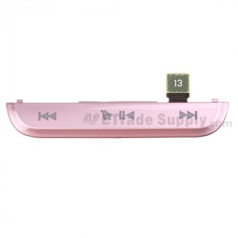 For BlackBerry Pearl 3G 9100, 9105 Mute & Music Button ,Black - Grade S+