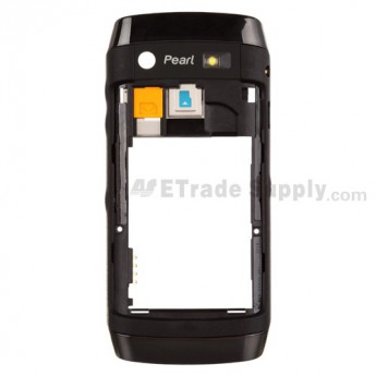 For BlackBerry Pearl 3G 9100, 9105 Rear Housing Assembly Replacement - Grade S+