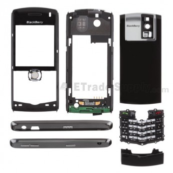 For BlackBerry Pearl 8100 Complete Housing Replacement ,Red - Grade S+