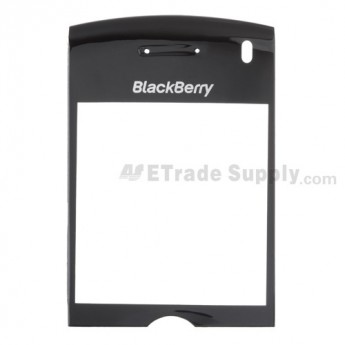 For BlackBerry Pearl 8100 Glass Lens Replacement ,Black - Grade S+