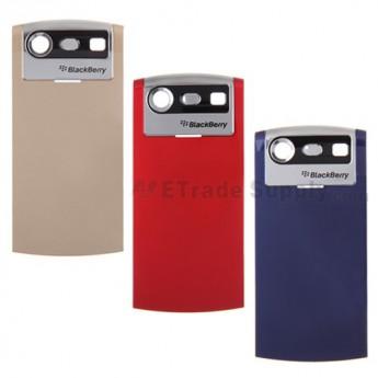 For BlackBerry Pearl 8110, 8120, 8130 Battery Door Replacement ,Black - Grade S+