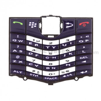 For BlackBerry Pearl 8120 Keypad Replacement ,Violet - Grade S+