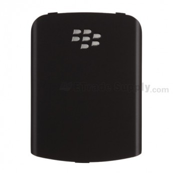 For BlackBerry Pearl Flip 8220 Battery Door Replacement ,Black - Grade S+