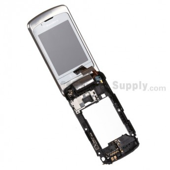 For BlackBerry Pearl Flip 8220 LCD with A Side Housing Replacement - Grade S+