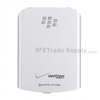 For BlackBerry Pearl Flip 8230 Battery Door Replacement ,Silver - Grade S+