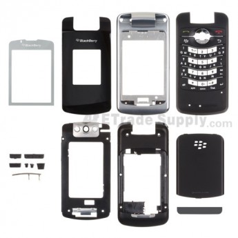 For BlackBerry Pearl Flip 8230 Housing Replacement ,Gray - Grade S+