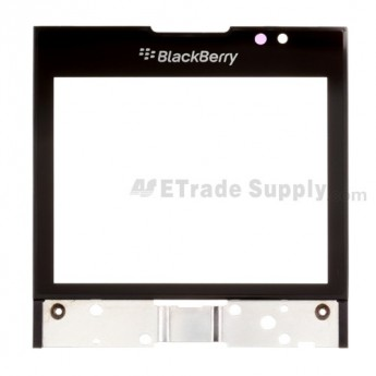 For BlackBerry Porsche Design P'9981 Glass Lens with Frame Replacement - Grade S+