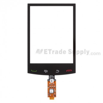 For BlackBerry Storm2 9520, 9550 Digitizer Touch Screen without Adhesive Replacement - Grade S+
