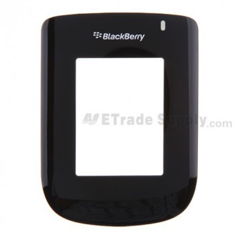 For BlackBerry Style 9670 Caller ID Glass Lens without Adhesive Replacement - Black - Grade A