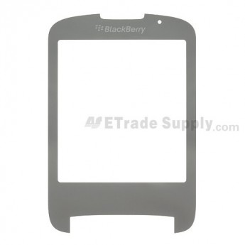 For BlackBerry Style 9670 Main Glass Lens Replacement - Grey - Grade A