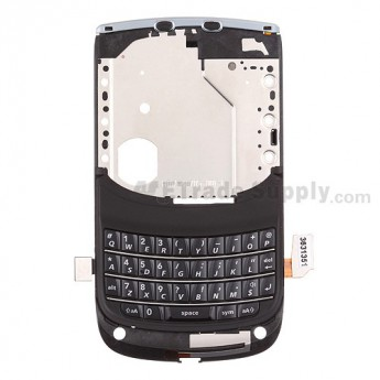 For BlackBerry Torch 2 9810 Middle Plate with Keypad - QWERTY Keypad Replacement - Grade S+