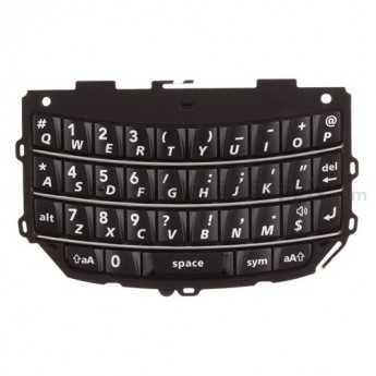 For BlackBerry Torch 2 9810 QWERTY Keypad Replacement ,Black - Grade S+