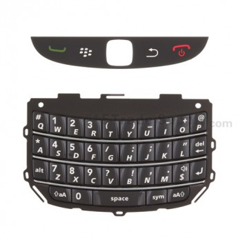 For BlackBerry Torch 9800 Keypad Replacement ,Black - Grade S+