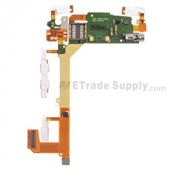 For BlackBerry Torch 9800 Lock & Mute Flex Cable Ribbon Replacement - Grade S+