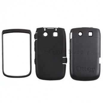 For BlackBerry Torch 9800 Otterbox Impact Case ,Black - Grade S+