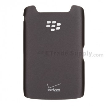 For BlackBerry Torch 9860, 9850 Battery Door Replacement (With Logo) ,Black