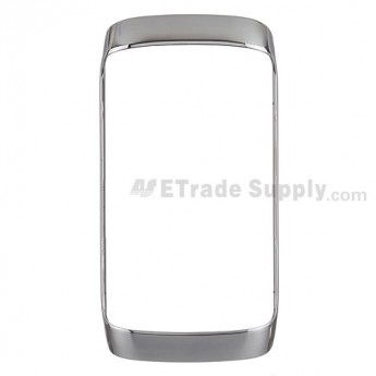 For BlackBerry Torch 9860, 9850 Bezel Replacement ,Silver - Grade S+