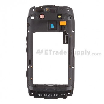 For BlackBerry Torch 9860,9850 Rear Housing Replacement ,Black - Grade S+