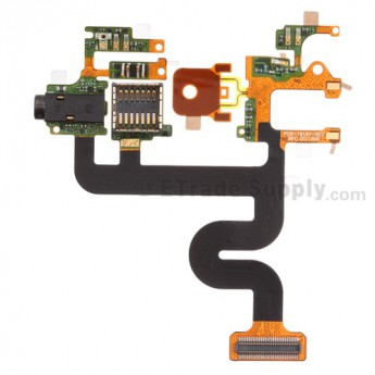 For BlackBerry Tour 9630 Motherboard Flex Cable Ribbon Replacement - Grade S+