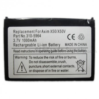 For Dell Axim X50V, Dell Axim X50V, Dell Axim X50 Battery Replacement - Grade S+