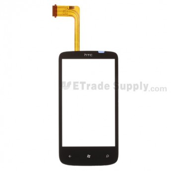 For HTC 7 Mozart Digitizer Touch Screen without Adhesive Replacement - Grade S+