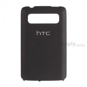 For HTC 7 Trophy Battery Door Replacement ,Black - Grade S+