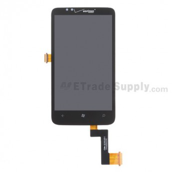 For HTC 7 Trophy LCD Screen and Digitizer Assembly Replacement - With Logo - Grade S+