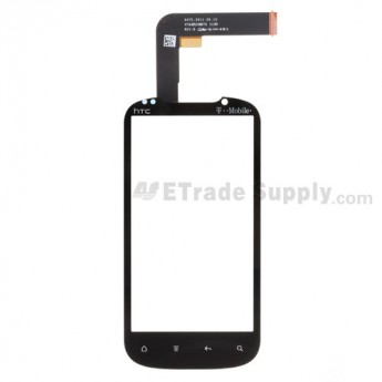 For HTC Amaze 4G Digitizer Touch Panel Replacement - With Logo - Grade S+