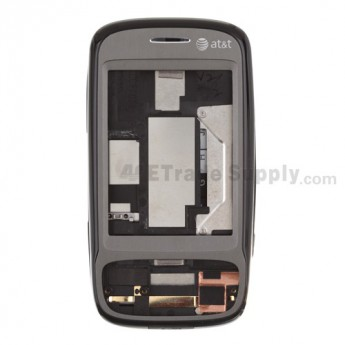 For HTC AT&T Tilt 8925 Complete Housing Kit Replacement ,Black - Grade S+