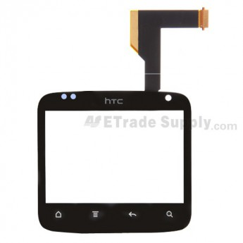For HTC ChaCha Digitizer Touch Screen without Adhesive Replacement - Grade S+