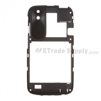For HTC Desire V T328W Rear Housing Replacement - Black - Grade S+